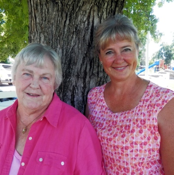 Marilyn Bay Wentz and Mildred Bay